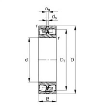 Spherical Roller Bearings 23038-E1A-M FAG