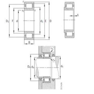 Cylindrical Bearing NJ248-E-M1 FAG