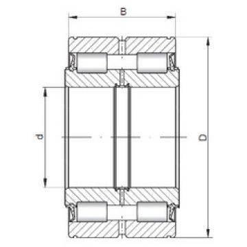 Cylindrical Bearing NNF5018 V ISO