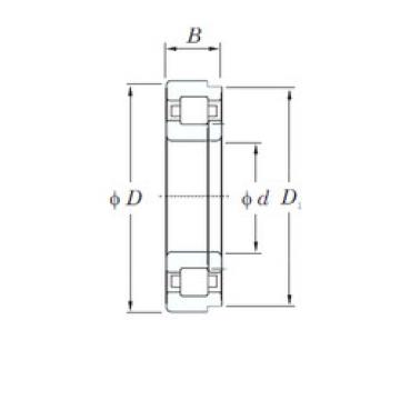 Cylindrical Roller Bearings Distributior NUP208R KOYO