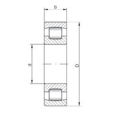 Spherical Roller Bearings 20316 ISO