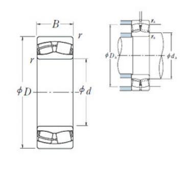 Spherical Roller Bearings 23020CDE4 NSK