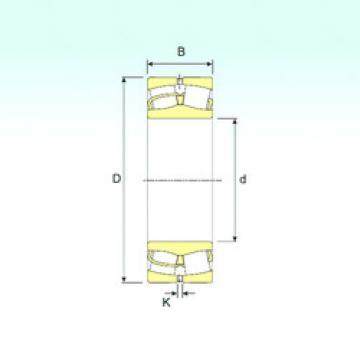 Spherical Roller Bearings 22312 VA ISB