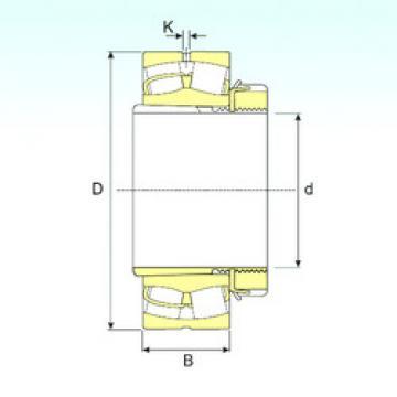 Spherical Roller Bearings 22217 EKW33+H317 ISB