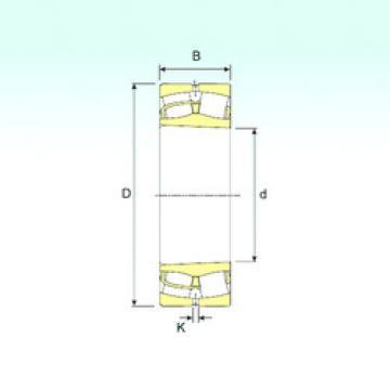 Spherical Roller Bearings 230/670 K ISB