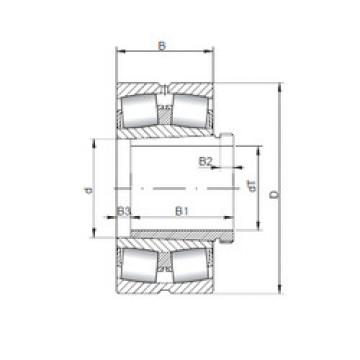 Spherical Roller Bearings 22216 KCW33+AH316 ISO