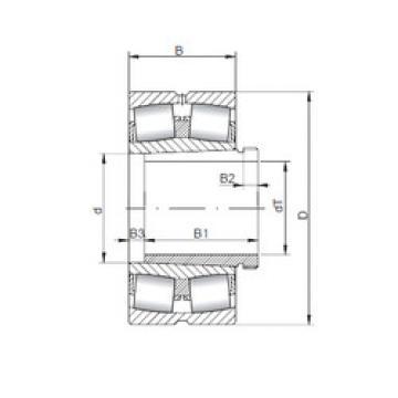 Spherical Roller Bearings 23038 KCW33+AH3038 ISO
