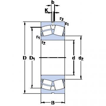 Spherical Roller Bearings 22228 CC/W33 SKF