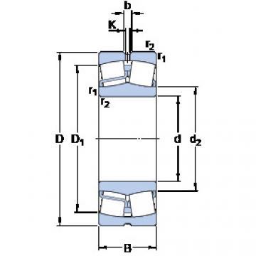 Spherical Roller Bearings 22311 E/VA405 SKF