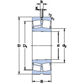 Spherical Roller Bearings 22312 EK/VA405 SKF
