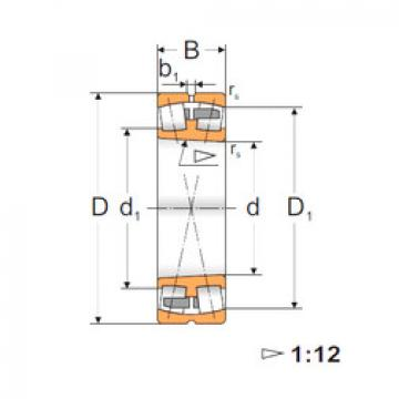 Spherical Roller Bearings 22214 CKMBW33 MPZ