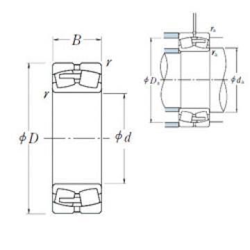 Spherical Roller Bearings 22252CAE4 NSK