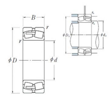 Spherical Roller Bearings 22260CAE4 NSK