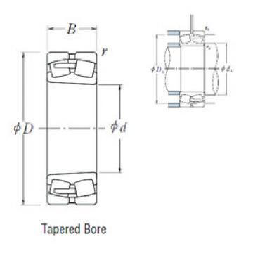 Spherical Roller Bearings 230/1000CAKE4 NSK