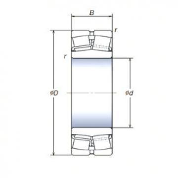 Spherical Roller Bearings 22220SWREAg2E4 NSK