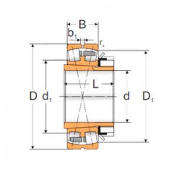 Spherical Roller Bearings 22338 KMW33+H2338 MPZ