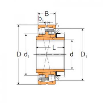 Spherical Roller Bearings 23044 KMW33+H3044 MPZ