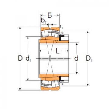 Spherical Roller Bearings 22232 KW33+H3132 MPZ
