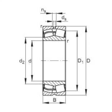 Spherical Roller Bearings 22244-E1 FAG