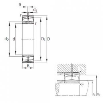 Spherical Roller Bearings 22336-A-MA-T41A FAG