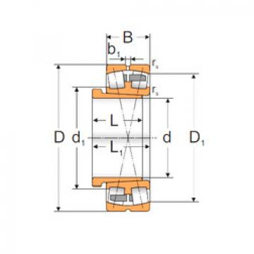 Spherical Roller Bearings 22316 KMB+AH2316X MPZ