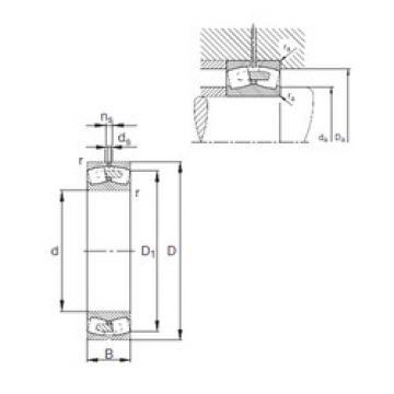 Spherical Roller Bearings 230/500-E1A-MB1 FAG