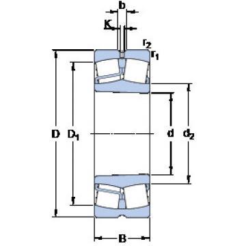 Spherical Roller Bearings 22318 EKJA/VA405 SKF