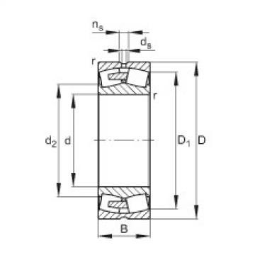 Spherical Roller Bearings 22352-E1A-MB1 FAG