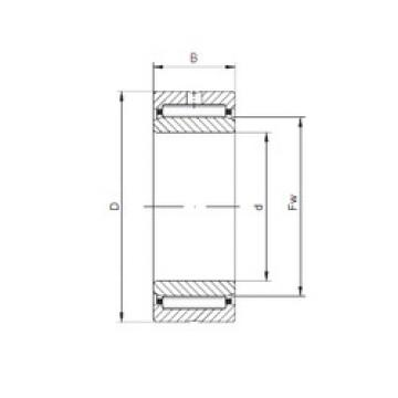needle roller bearing sleeve NKI95/26 ISO