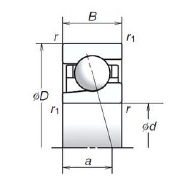 angular contact thrust bearings 10BGR19S NSK