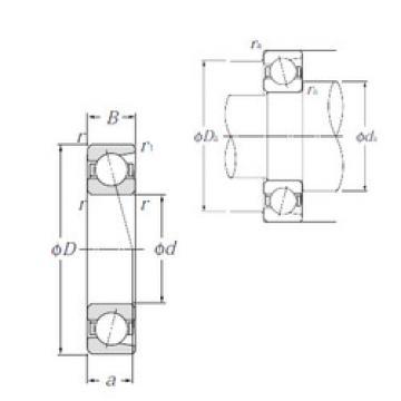 angular contact thrust bearings 7021 NTN