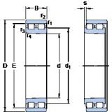 Cylindrical Bearing NN 3015 KTN/SP SKF