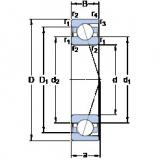 Angular Contact Ball Bearings 71915 CD/P4A SKF