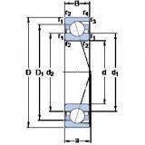 Angular Contact Ball Bearings 71930 ACD/HCP4A SKF
