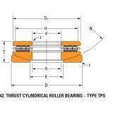 TPS thrust cylindrical roller bearing 60TPS124