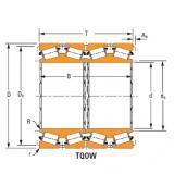 four-row tapered roller Bearings Jm466449dw Jm466410