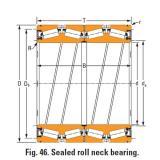 Timken Sealed roll neck Bearings Bore seal 691 O-ring