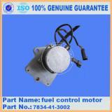 excavator parts PC300-7 PC360-7 motor 7834-41-3002 fuel control motor