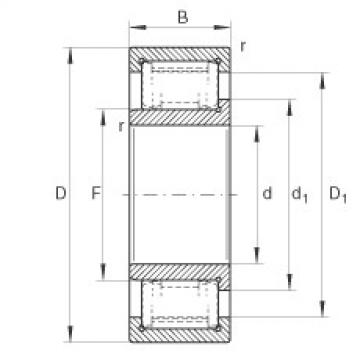 cylindrical bearing nomenclature ZSL192316 INA