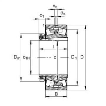 Spherical Roller Bearings 230/670-B-K-MB + H30/670-HG FAG