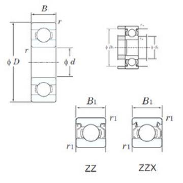 Bearing Original Brand W69/1.5ZZX  KOYO