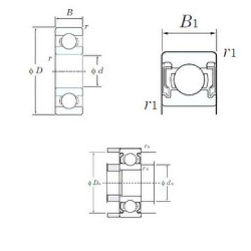 Bearing Original Brand W689-2RU  KOYO