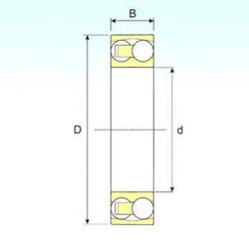 Self-Aligning Ball Bearings 2305 ISB