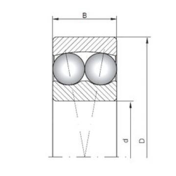 Self-Aligning Ball Bearings 2305 ISO