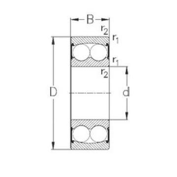 Self-Aligning Ball Bearings 2305-2RS NKE