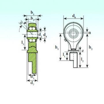 Self-Aligning Ball Bearings TSM 17-01 BB-E ISB