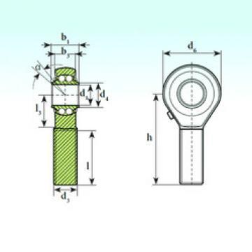 Self-Aligning Ball Bearings TSM 18 BB ISB