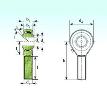 Self-Aligning Ball Bearings TSM 12 BB-O ISB