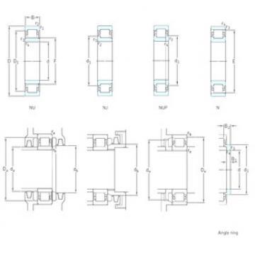 Cylindrical Bearing NJ314ECP SKF