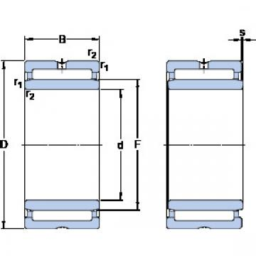 Cylindrical Bearing NKI 70/25 SKF